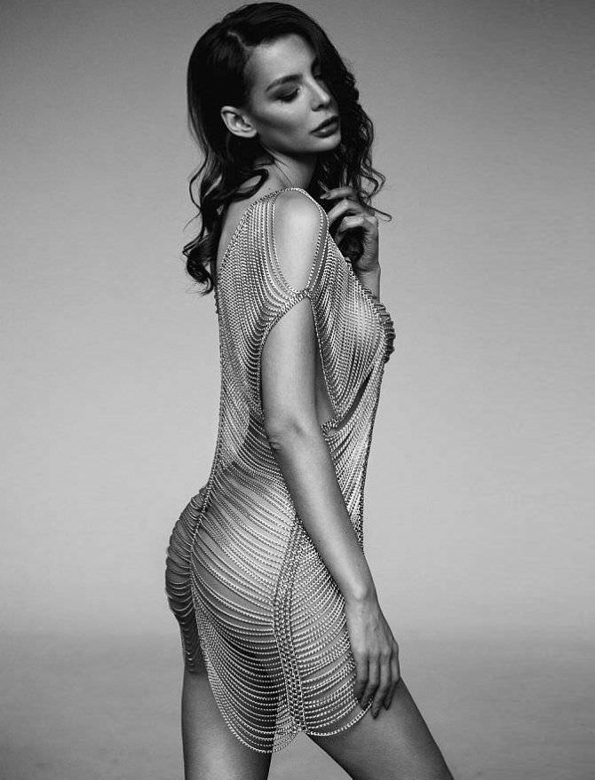 Ника Вайпер фотосессия в красивом платье