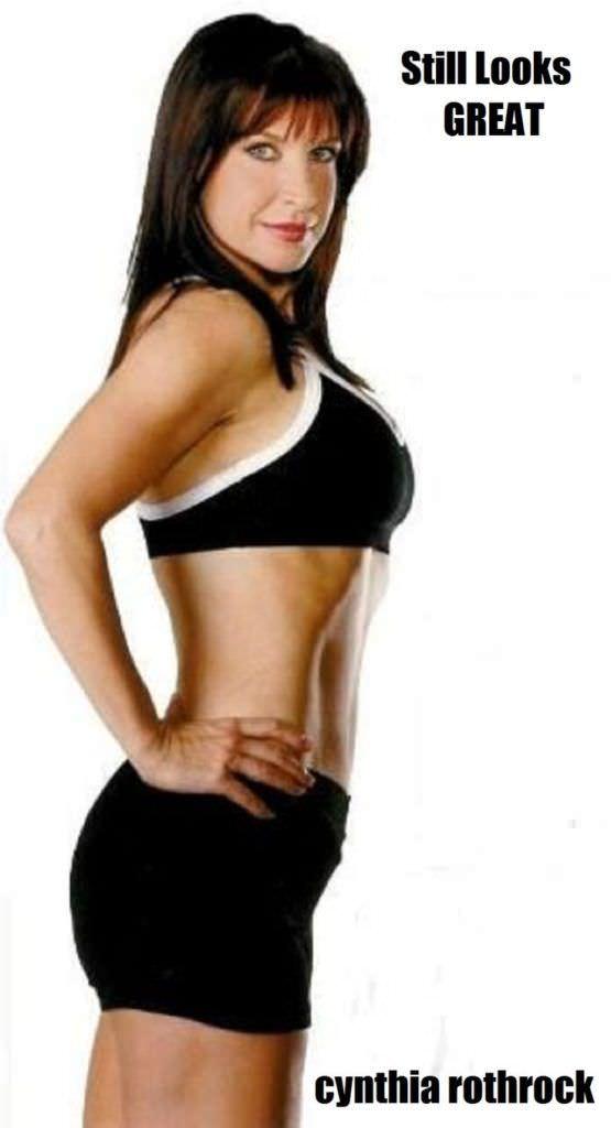Синтия Ротрок фотография в спортивном костюме