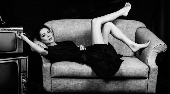 Елена Лядова фотосессия в платье