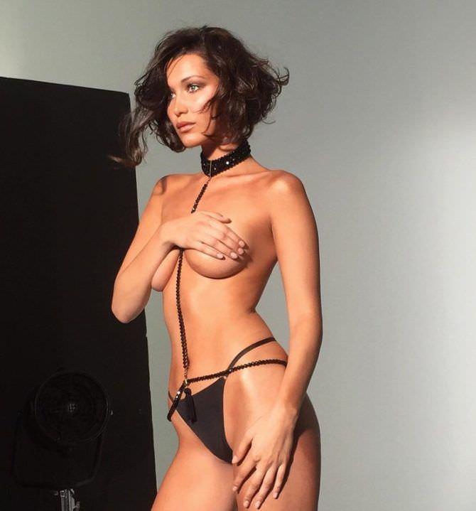 Белла Хадид фото в сексуальном белье