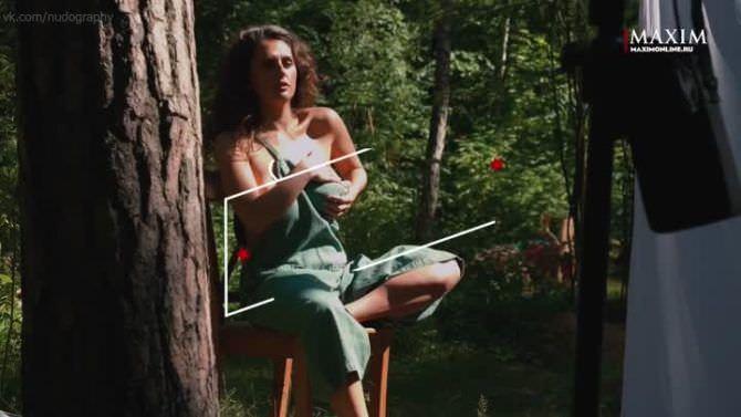 Мария Шумакова фото со съёмок для журнала