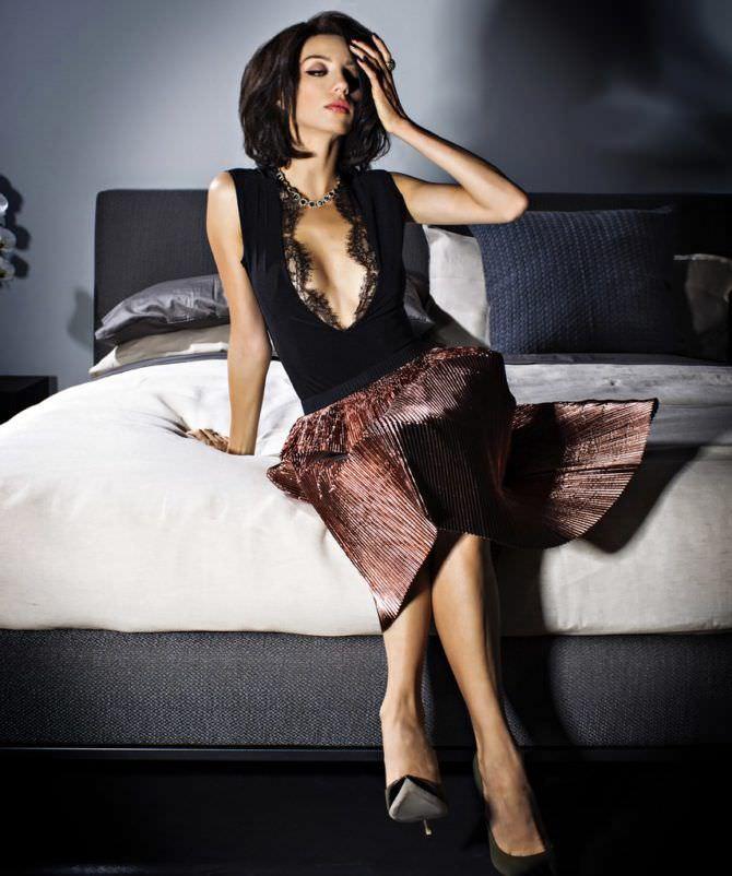 Анджела Сарафян фото в вечернем платье