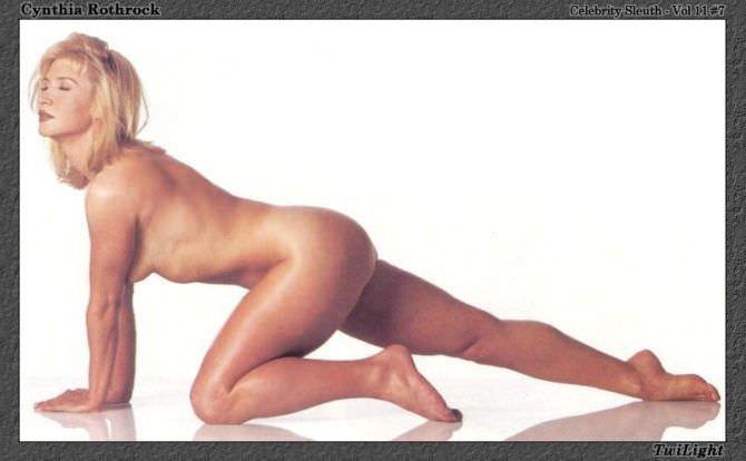 Синтия Ротрок фото обнажённого тела актрисы