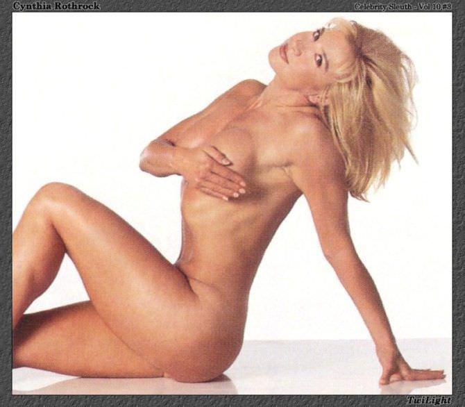 Синтия Ротрок фотография без одежды в молодости