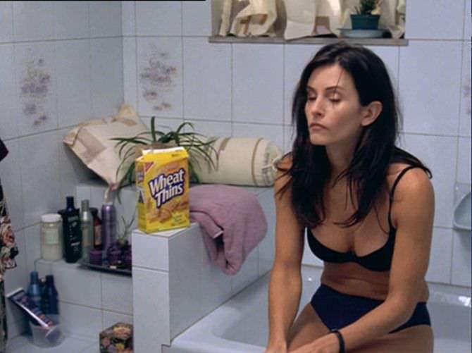 Кортни Кокс фото из фильма в белье