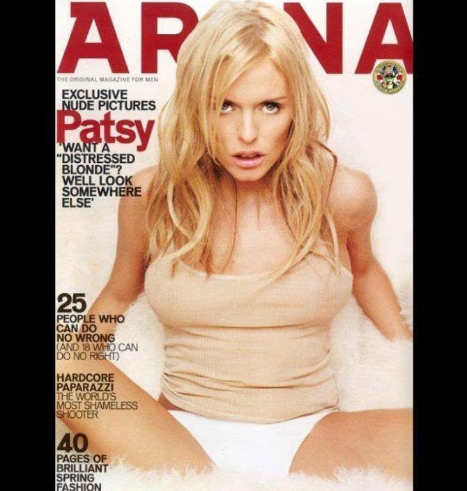 Пэтси Кенсит фотография с обложки журнала