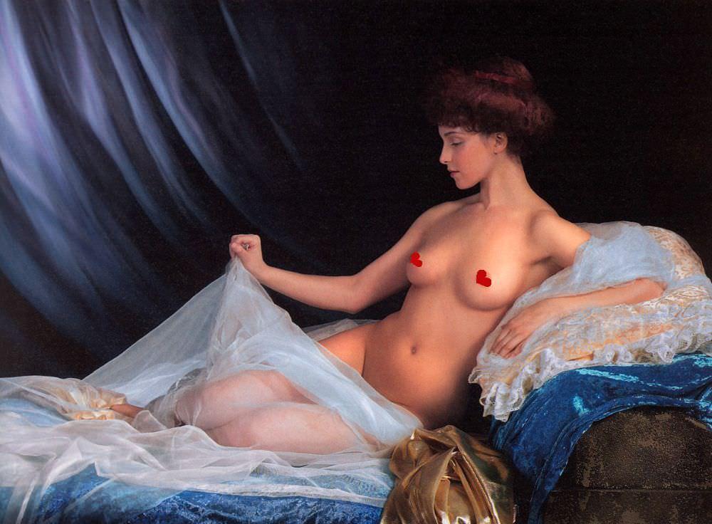 Анна Снаткина фото на постели