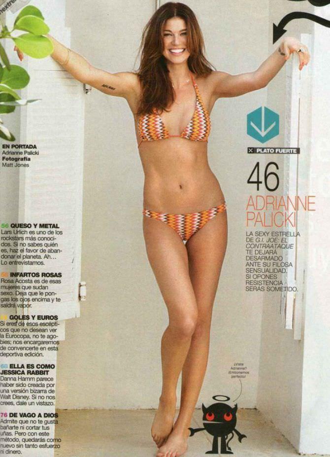 Эдрианн Палики фотография в журнале в бикини