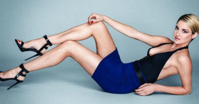 Шейлин Вудли фото в красивом платье
