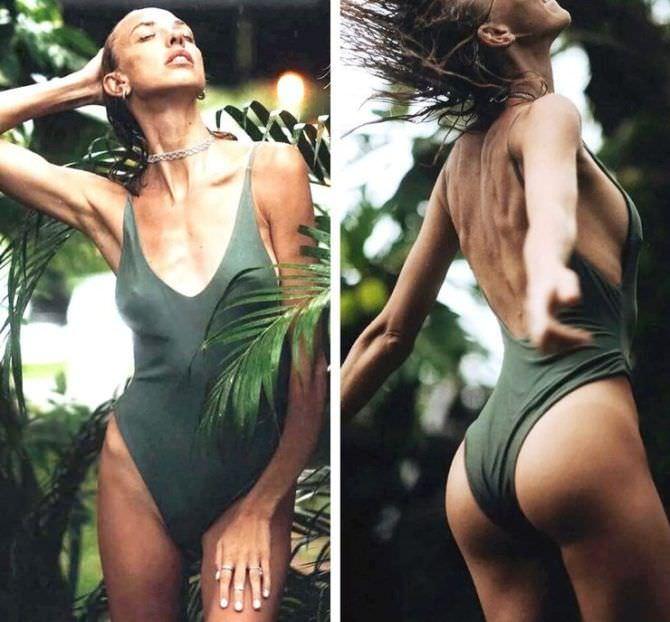 Надежда Сысоева фото в зелёном купальнике