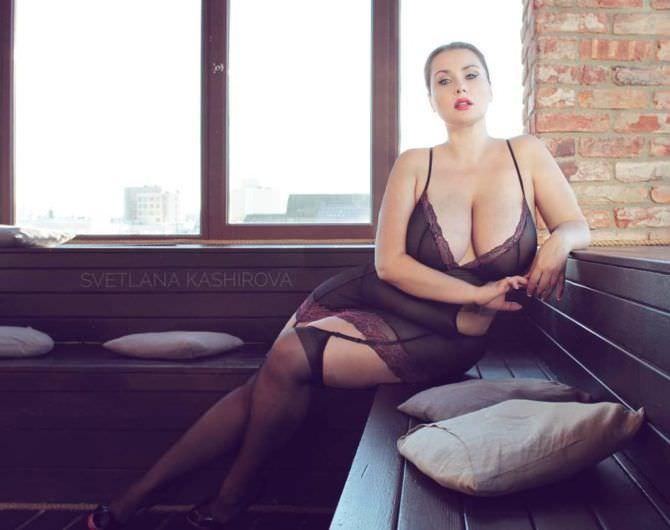 Светлана Каширова фото в красивом кружевном белье