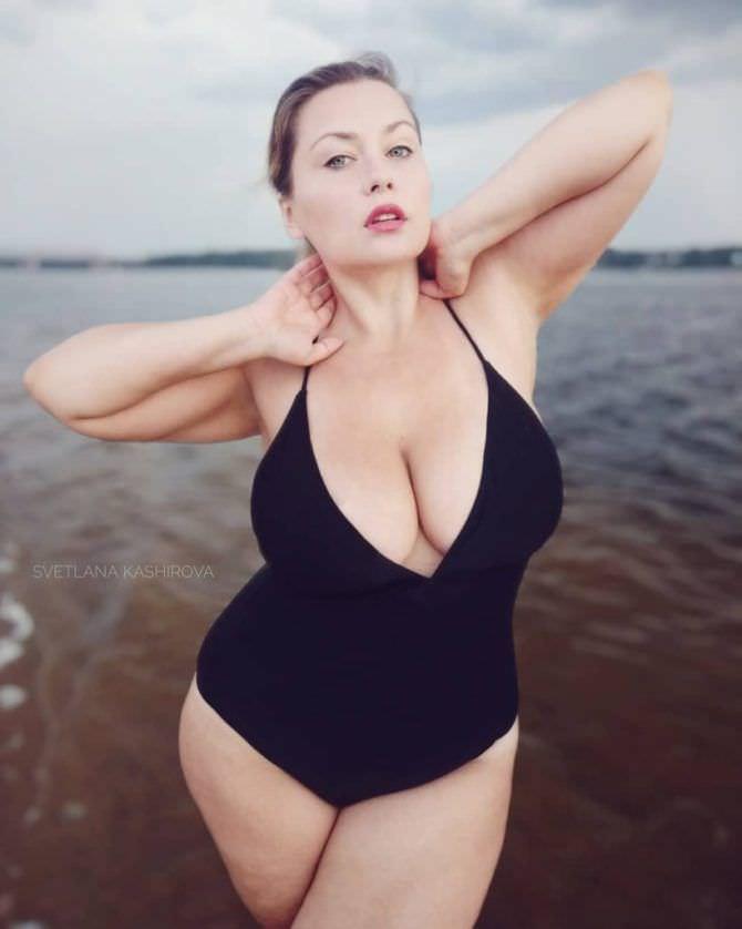 Светлана Каширова фото в закрытом купальнике