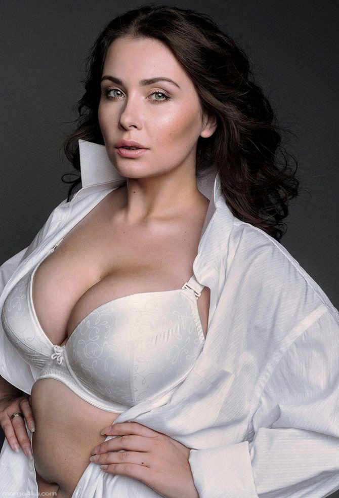 Светлана Каширова фотография в белой рубашке
