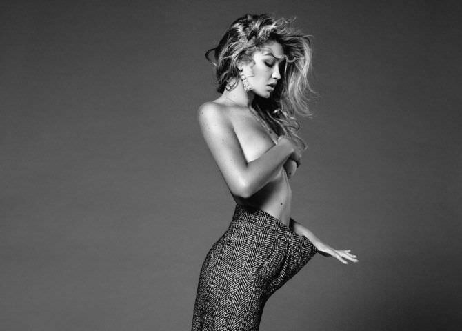 Джиджи Хадид фото в брюках большого размера