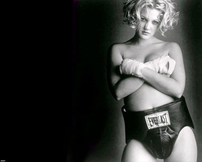 Дрю Бэрримор фото к фильму про бокс