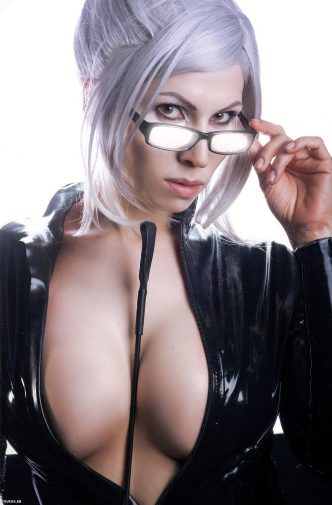 Елена Самко откровенное фото в очках