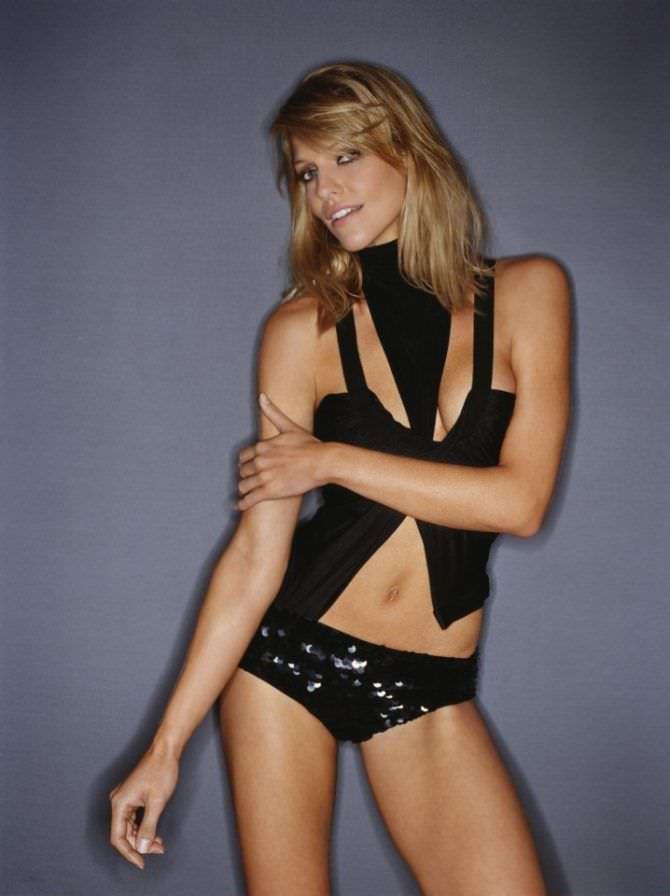 Триша Хелфер фотосессия в нижнем белье в журнале