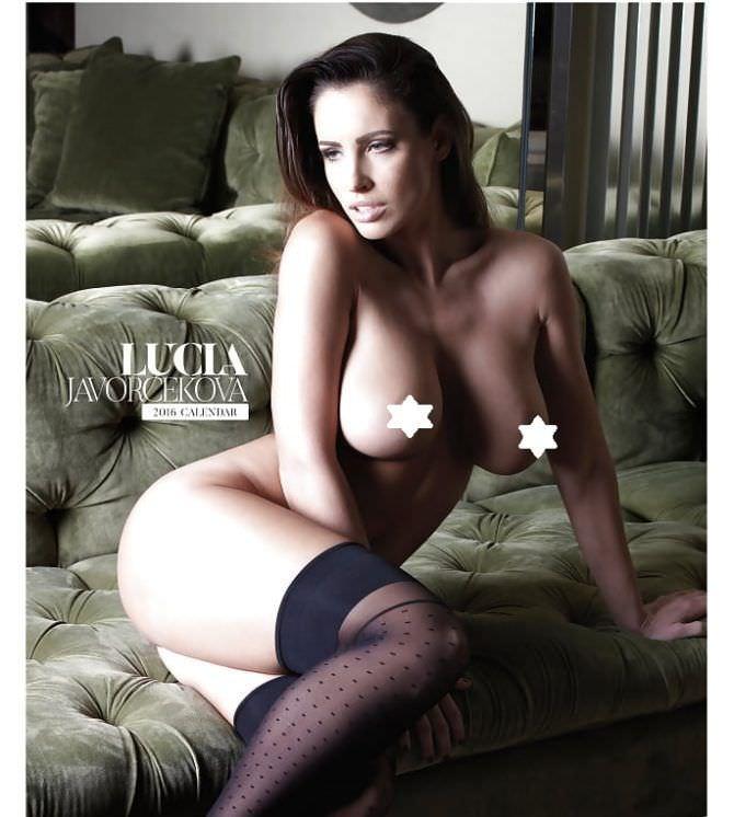 Люсия Яворчекова фотография из календаря