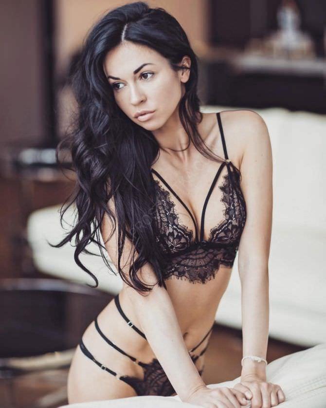 Анастасия Тукмачева фотография в кружевном белье