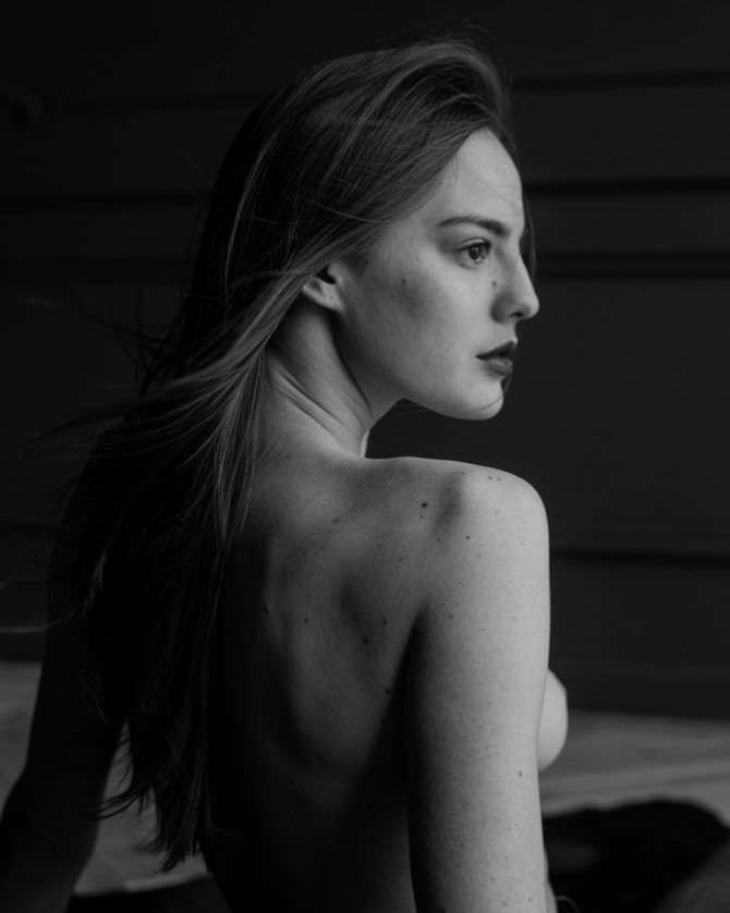 Изабель Эйдлен чёрно-белая фотография в инстаграм