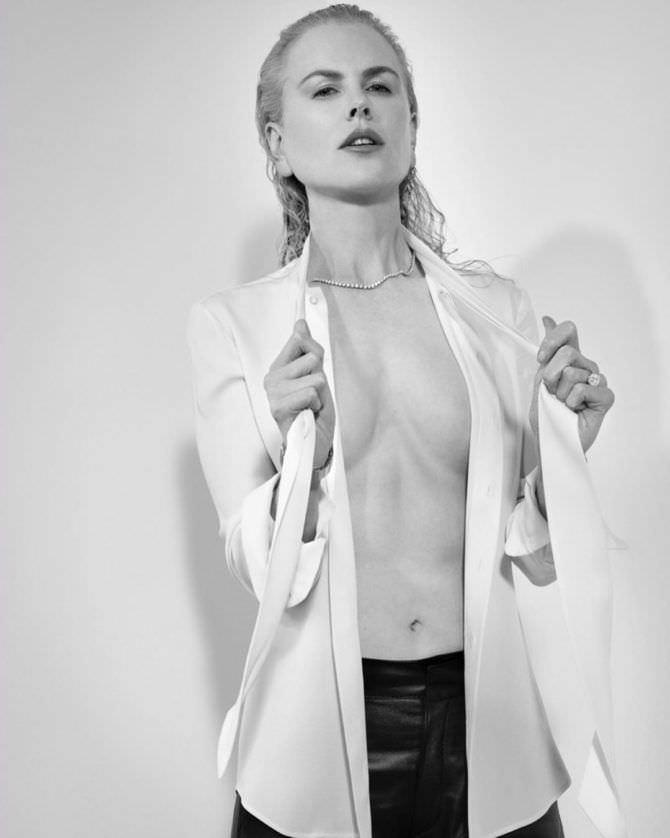 Николь Кидман фото в рубашке в инстаграм