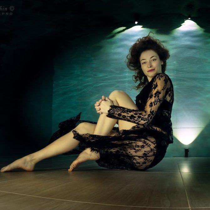 Марина Казанкова фото под водой в инстаграм