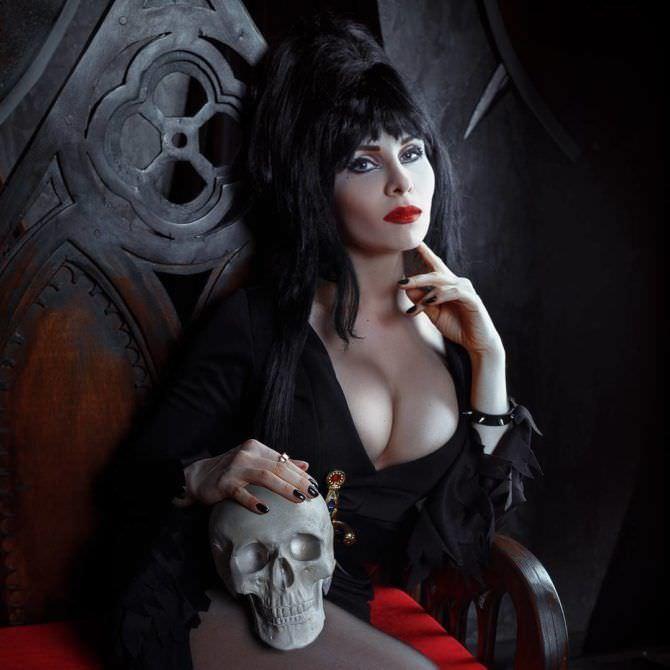 Елена Самко фотография в образе ведьмы