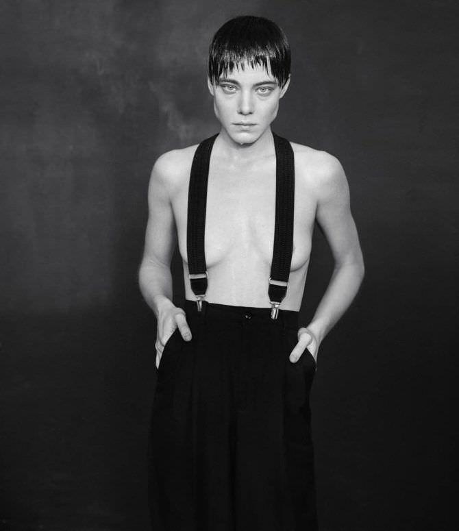 Алёна Михайлова фотосессия с короткими волосами