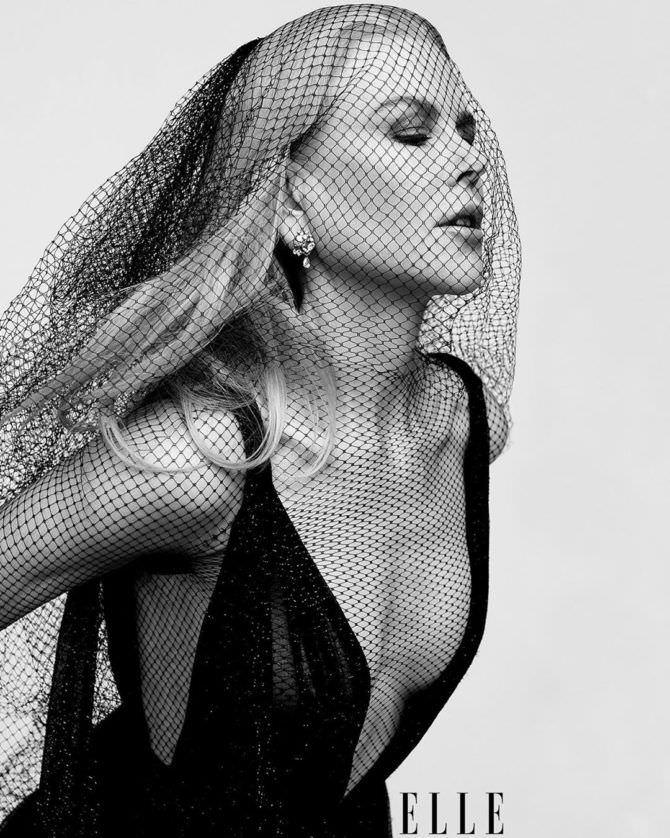 Николь Кидман фото с вуалью в инстаграм