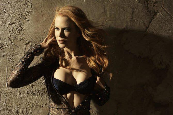 Николь Кидман фото в ажурной блузке