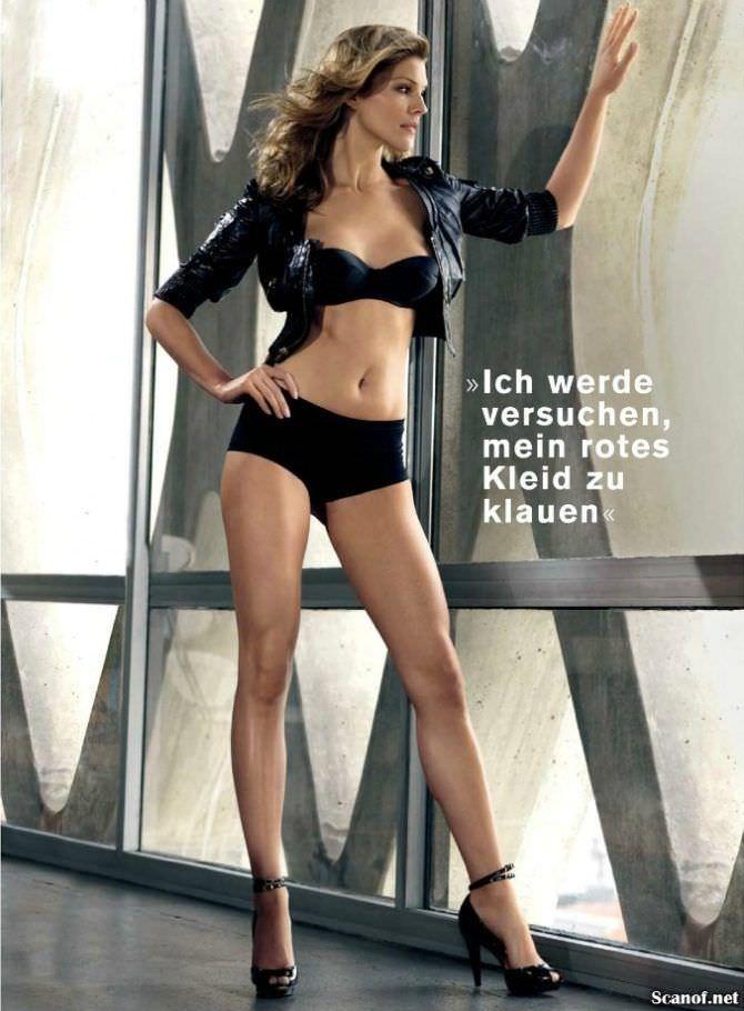 Триша Хелфер фотография в журнале FHM