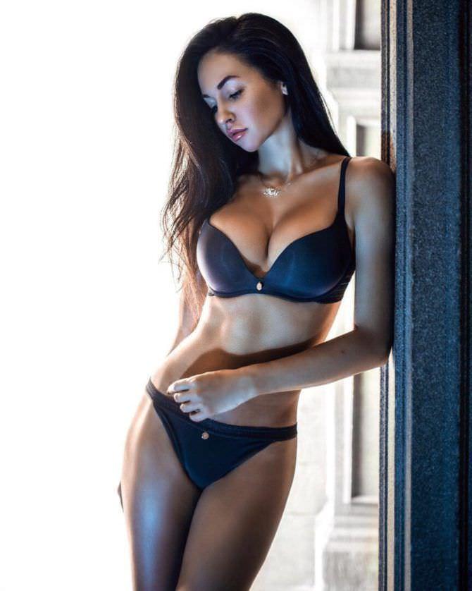 Анастасия Тукмачева фотография в чёрном белье