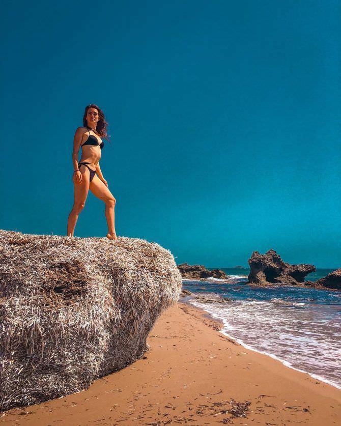 Мария Дмитриева фото на пляже в инстаграм