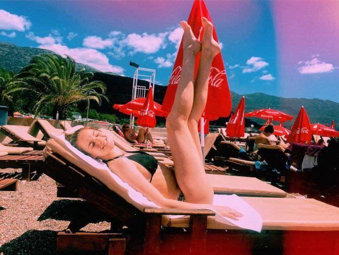 Изабель Эйдлен фотография на лежаке