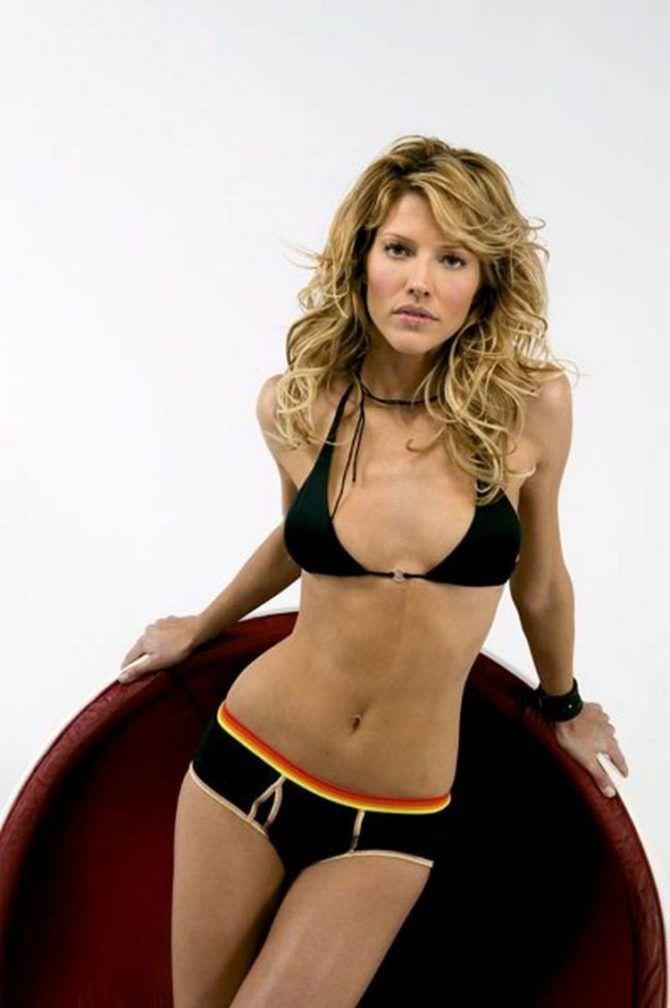 Триша Хелфер фото из журнала в бикини