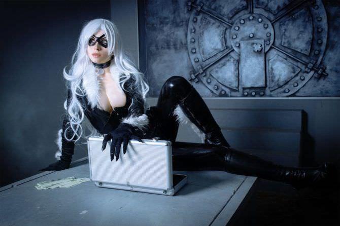 Елена Самко фотография в костюме героя комиксов