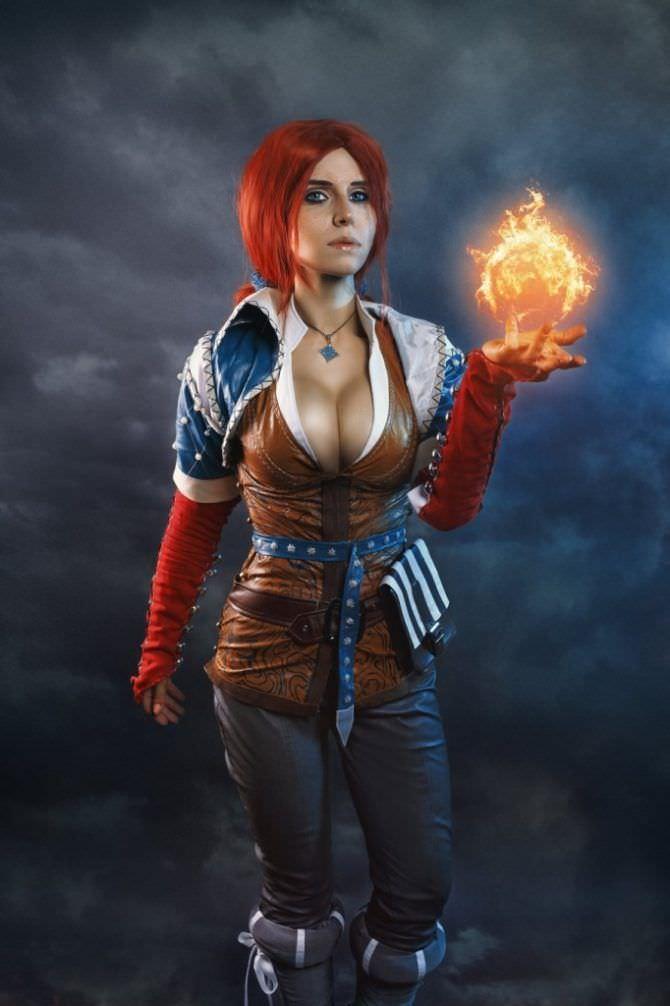 Елена Самко фото в костюме колдуньи