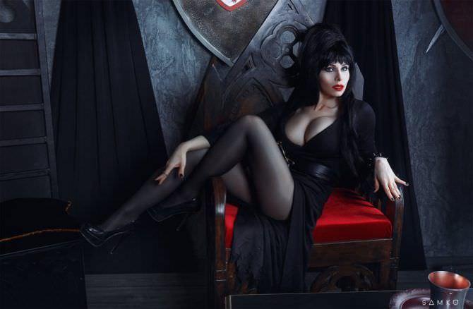 Елена Самко фото в костюме ведьмы из фильма