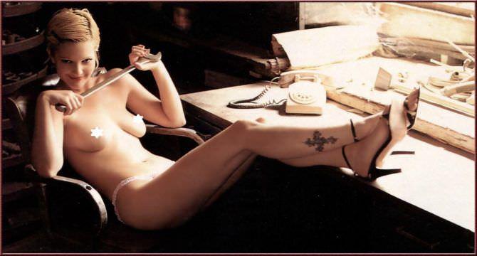 Дрю Бэрримор фотосессия в журнале 1995