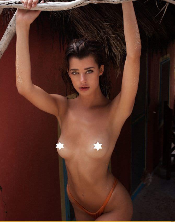 Сара Макдэниэл откровенное фото без одежды