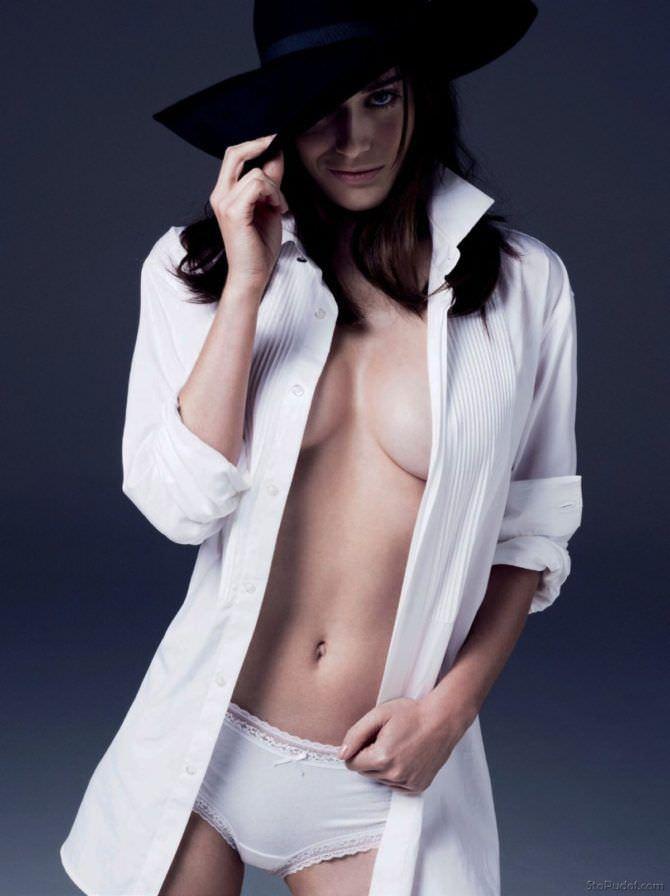 Лиззи Каплан фото из журнала 2014