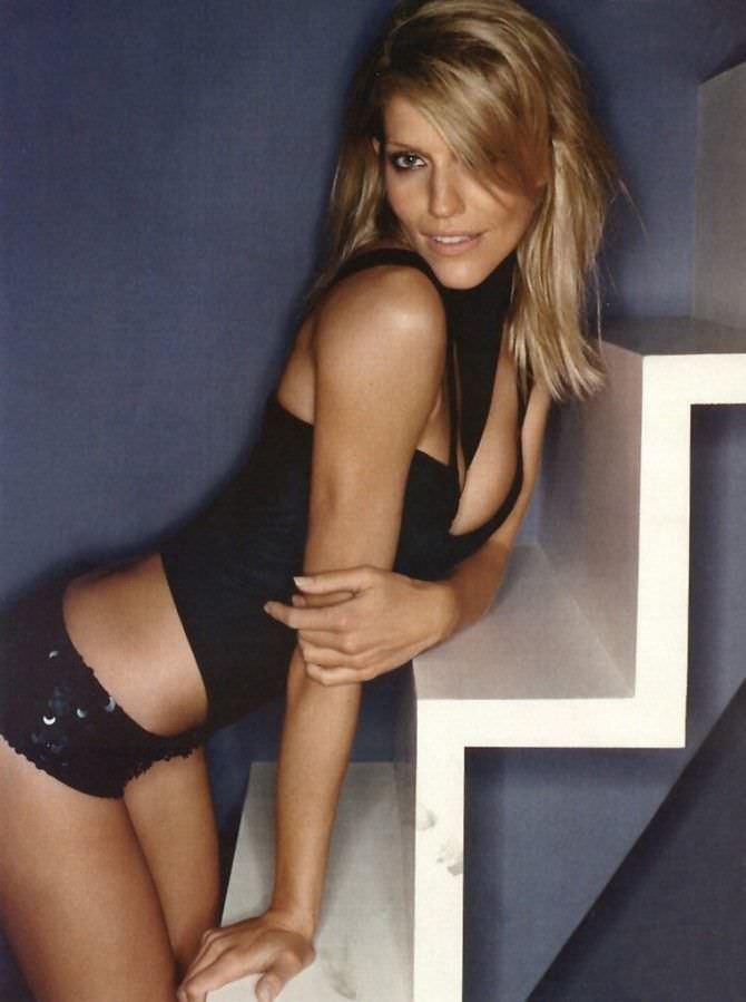 Триша Хелфер фотов нижнем белье из журнала