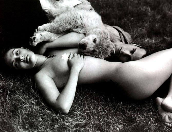 Дрю Бэрримор откровенное фото с мужчиной