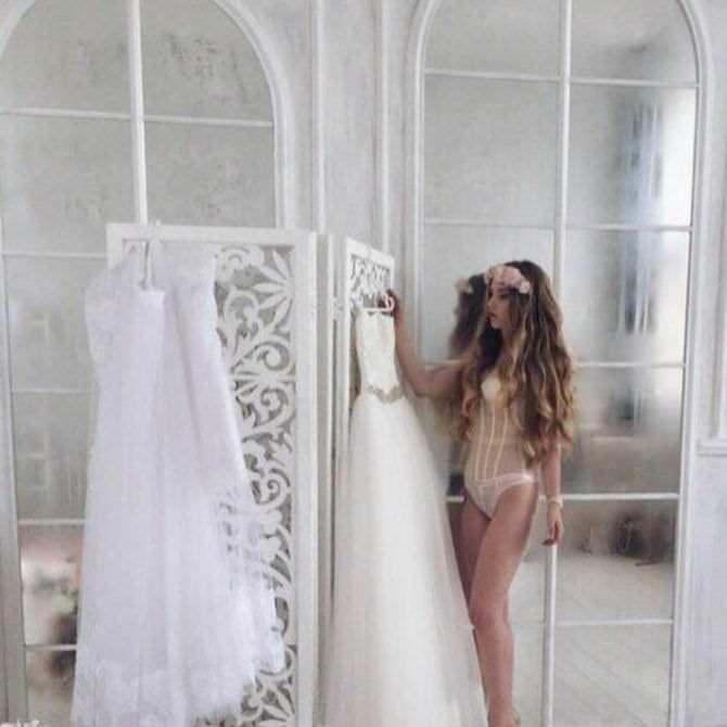 Оксана Невеселая фото со свадебными платьями