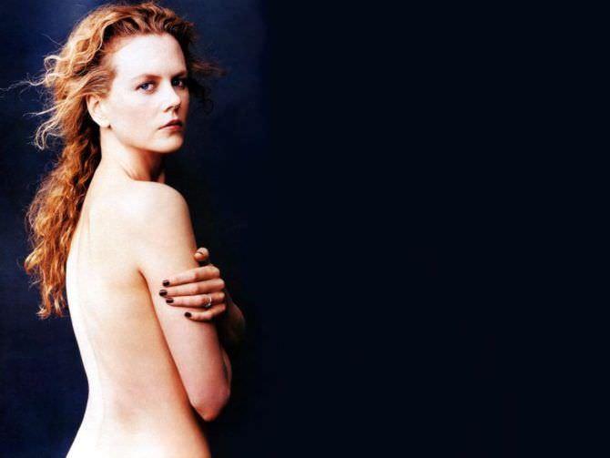 Николь Кидман красивое откровенное фото