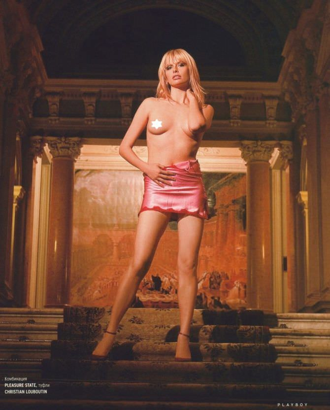 Анна Чурина фото из журнала 2006