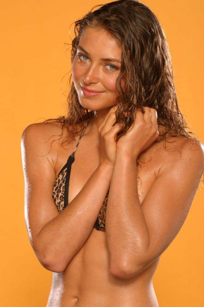 Марина Казанкова фото в леопардовом купальнике