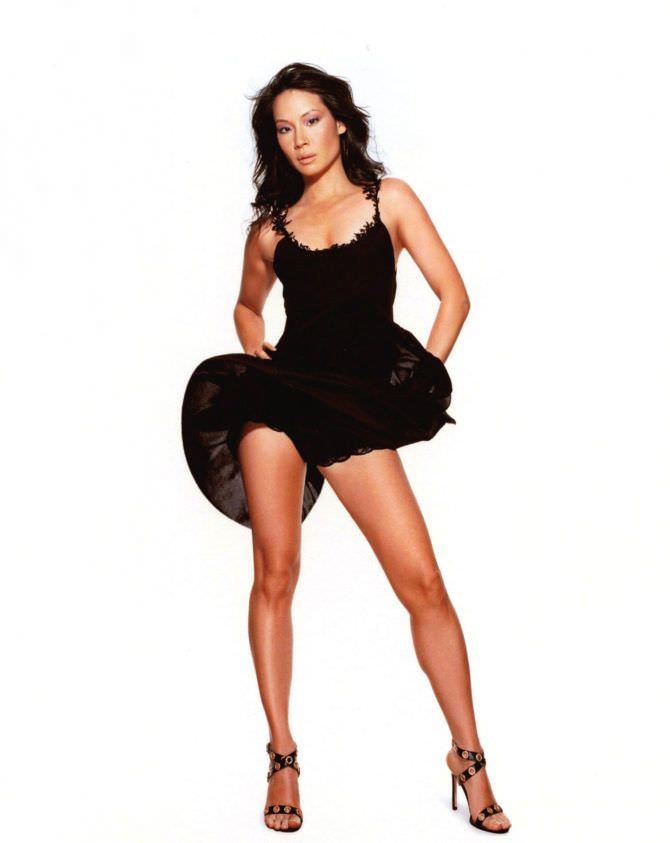 Люси Лью фотография в чёрном платье