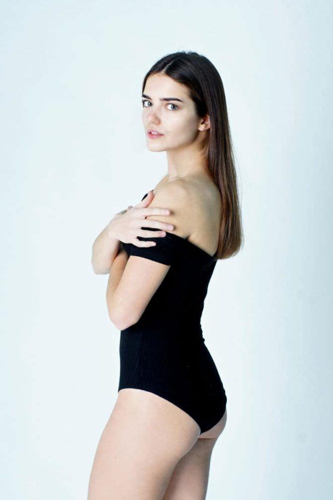 Мария Дмитриева фотография в чёрном купальнике