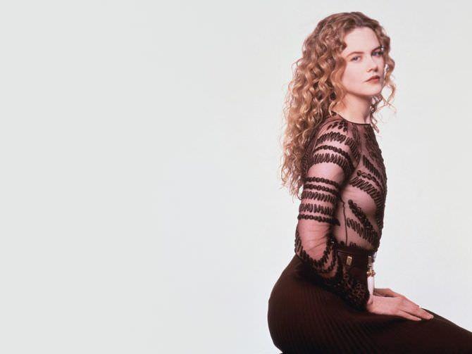 Николь Кидман фотография в прозрачной блузке